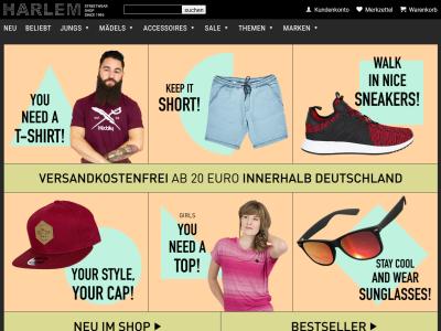 finest selection 534a7 24c3c Rubrik : Mode - Harlem-stores: CyberGate24